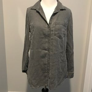 Old Navy - Distressed Button Down - Size XS